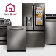 Lg Kitchen Appliances 4 Stool Island 87 Compatible With Google Assistant Ha