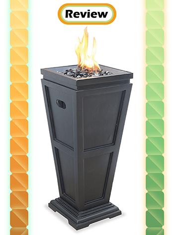 UniFlame Endless Summer GLT1332SP Propane Outdoor FirePlace Review