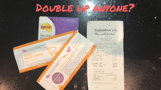 sainsbury's double up event
