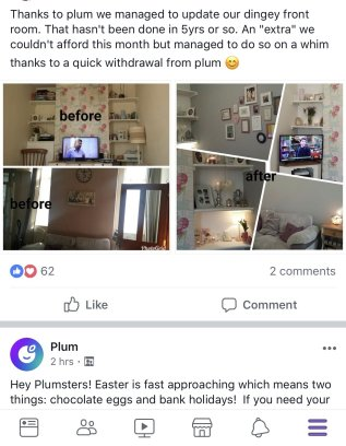 how plum has helped people save