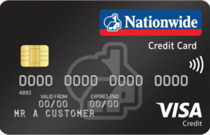 Nationwide credit card cashback