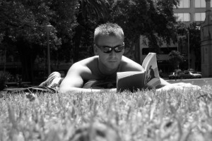 Relaxing while reading...