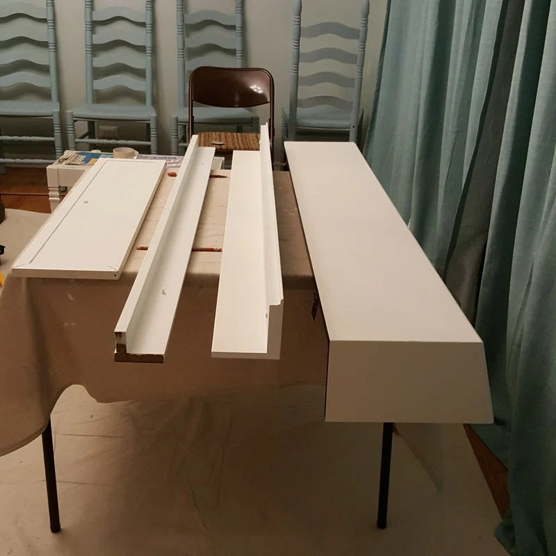 How to paint a piano - Take it apart and set up painting stations - Housekaboodle
