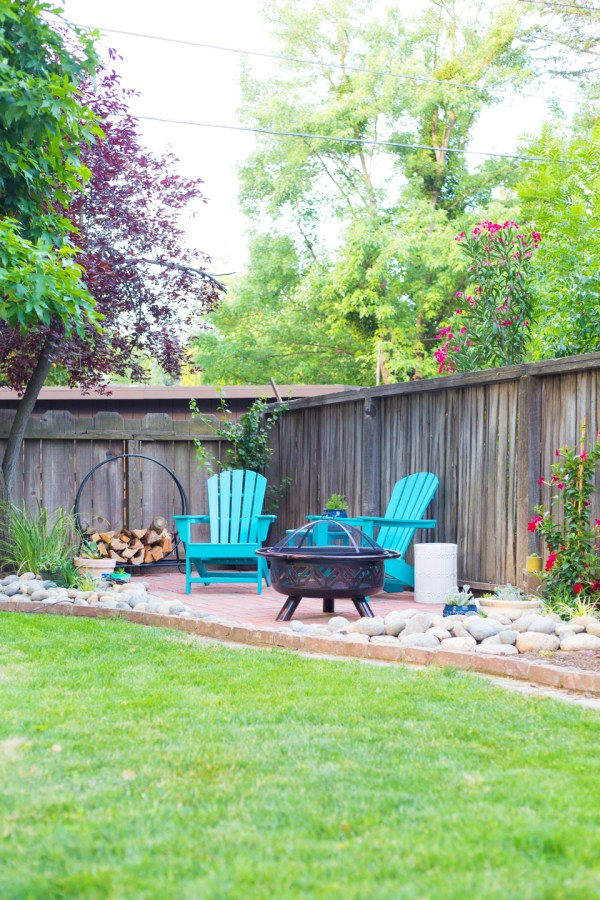 backyard and makeover