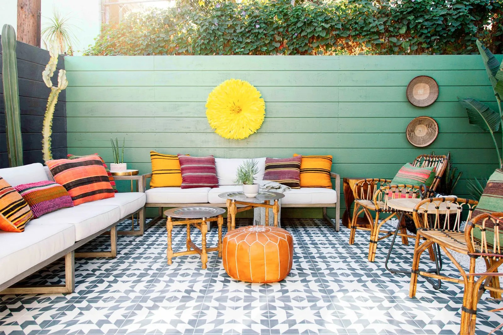 small patio decorating ideas fast