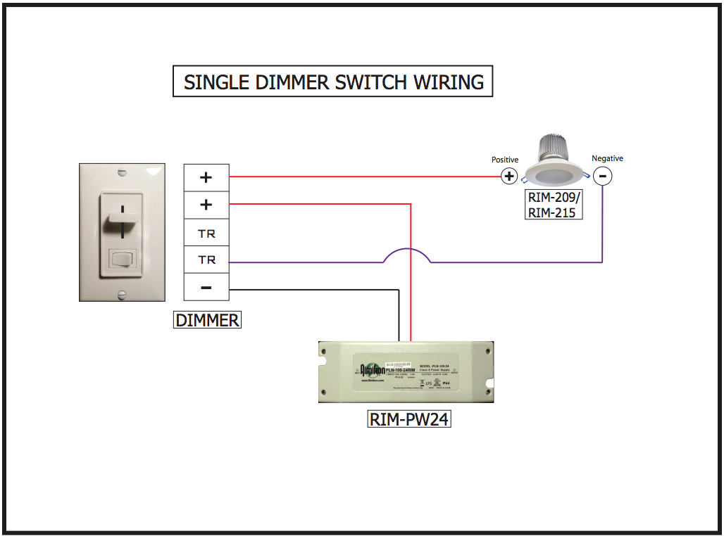 Lighting Wiring Diagram House Houselogix Low Voltage Dimmer White