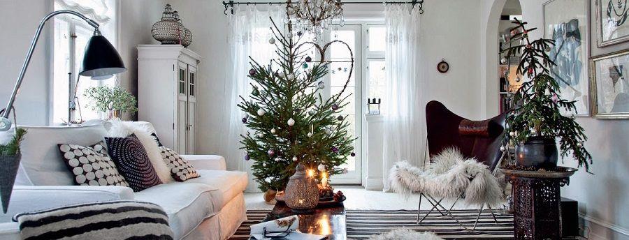 Idee e consigli per un natale in stile scandinavo for Idee per arredare casa a natale