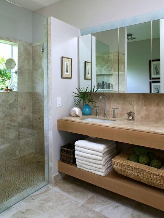 arredare la stanza da bagno in stile marinaro - Arredo Bagno Casa Al Mare