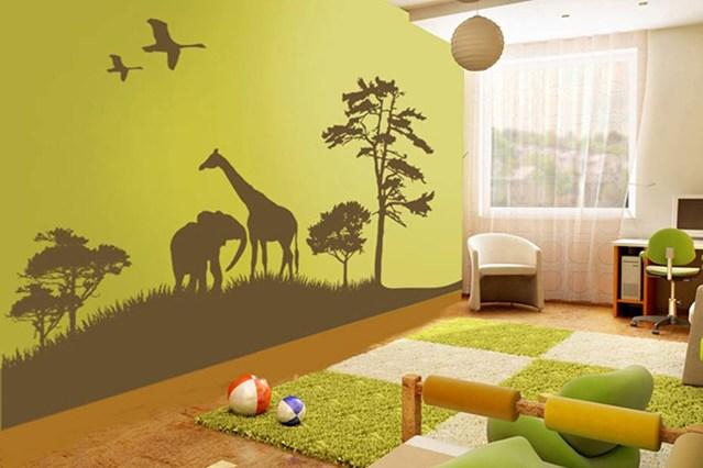 Cameretta Bianca E Verde : Come decorare la cameretta dei bambini