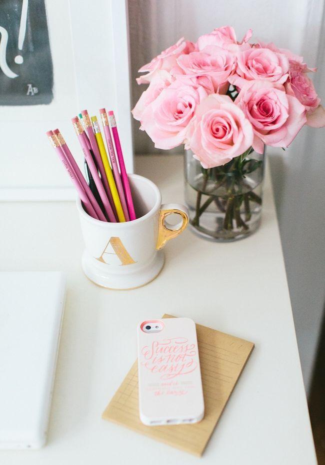 fiori scrivania