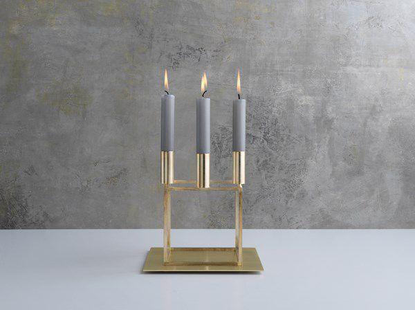 by lassen candeliere oro natale stile scandinavo