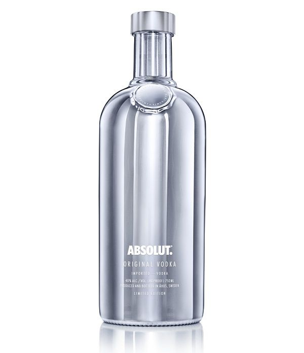 Absolut Electrik Silver White vodka edizione limitata