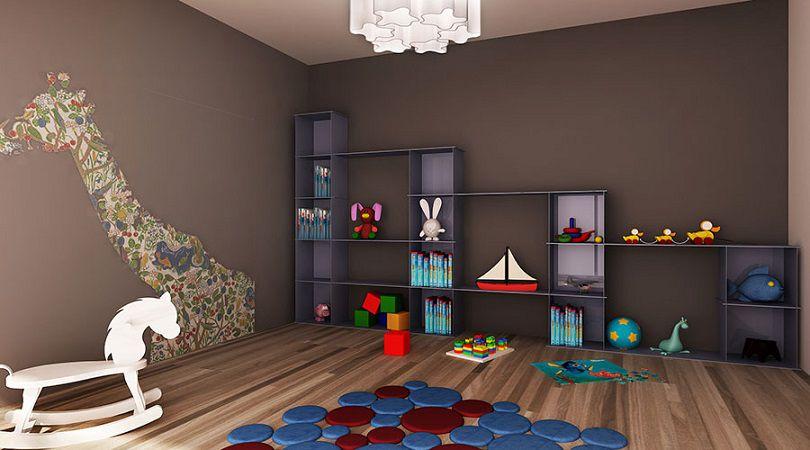 libreria componibile stanza bambini Image © Facmodo Design