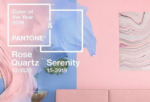 pantone rose quartz serenity 2016 casa