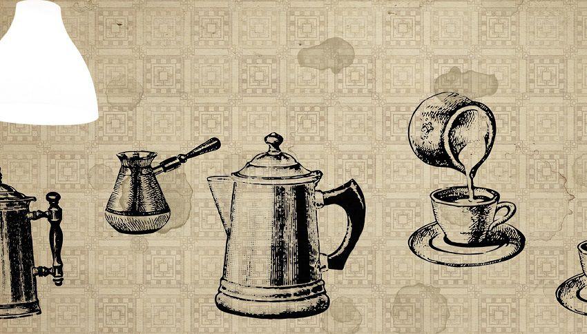 wallpepper carta da parati Cafè