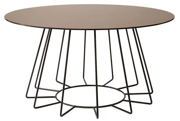 Danetti Orbit Bronze Glass Coffee table