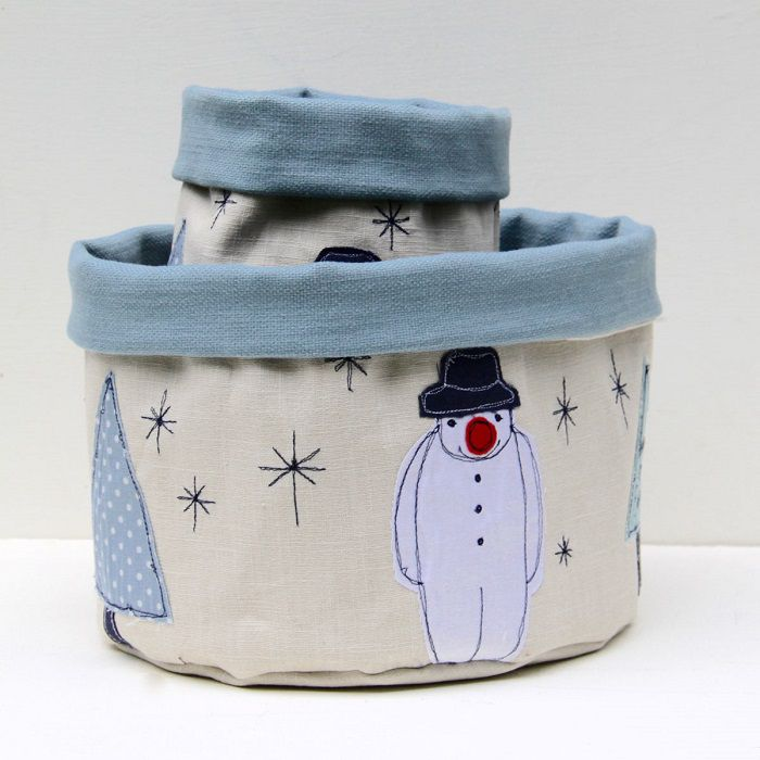 Poppy Treffry Christmas Treat Pots