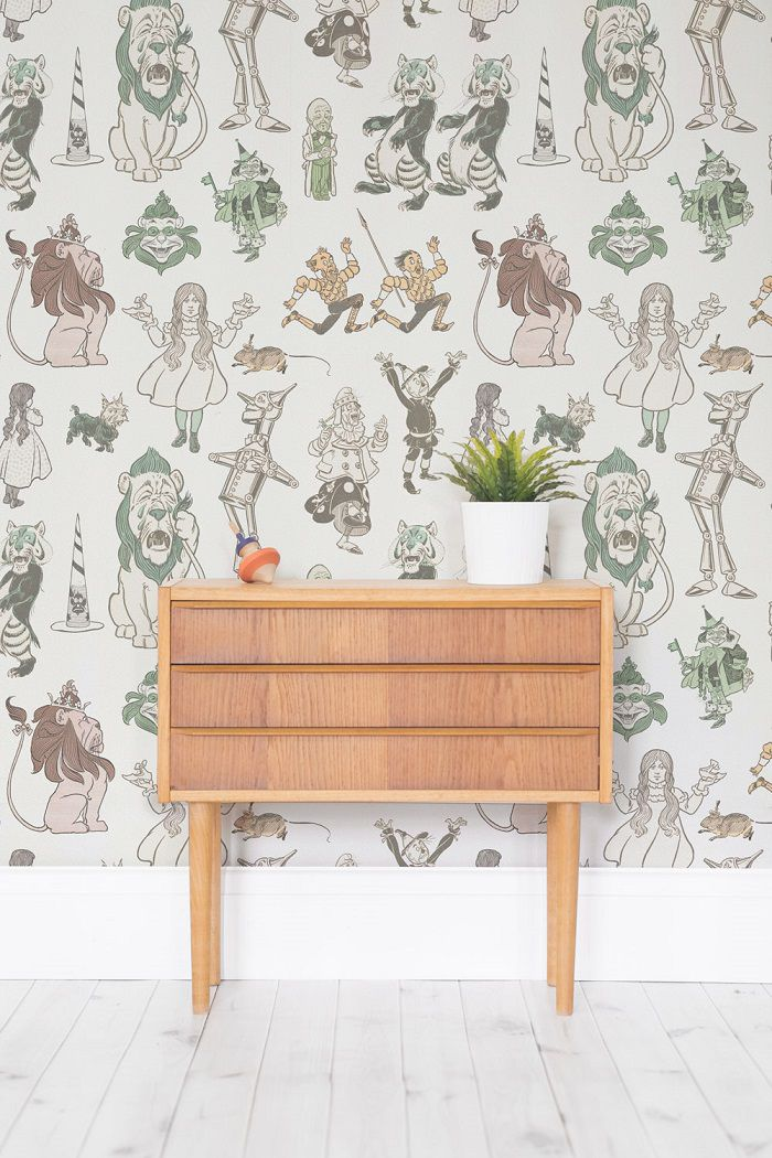 The Wizard of Oz mural wallpapers 2
