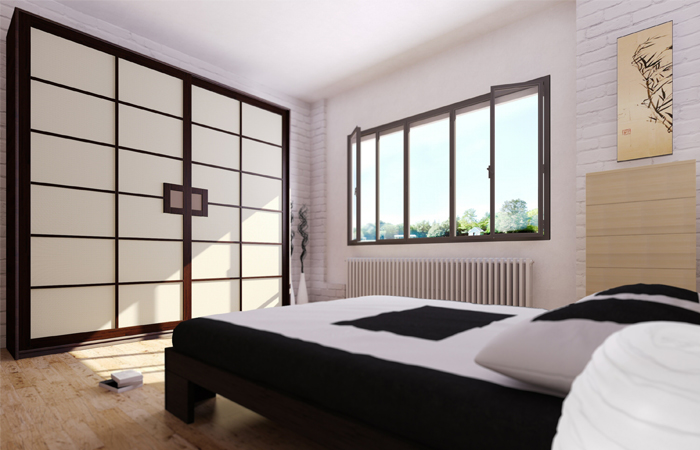 Good with camera da letto stile giapponese - Camera da letto giapponese ...