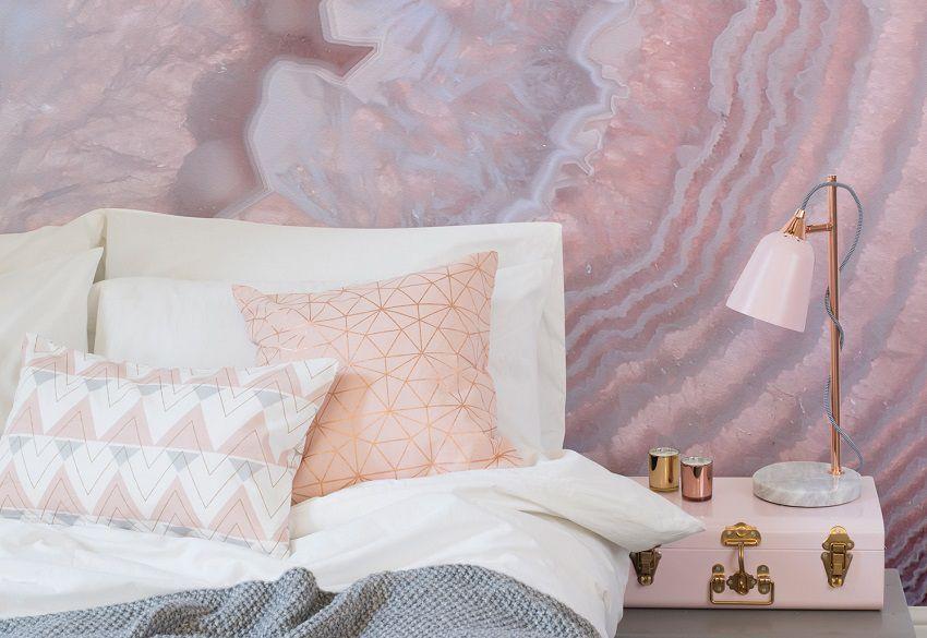 Blush Pink Murals Wallpaper