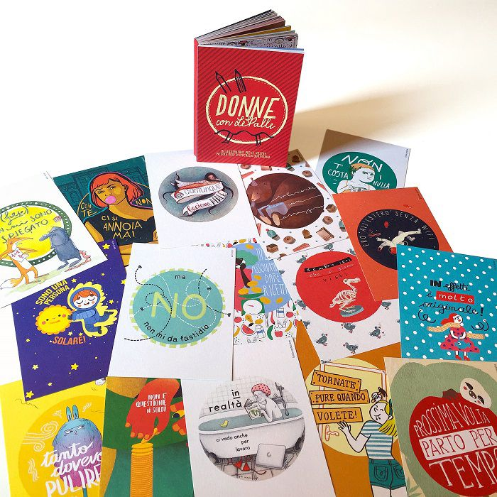 donne-con-lepalle-book-cards