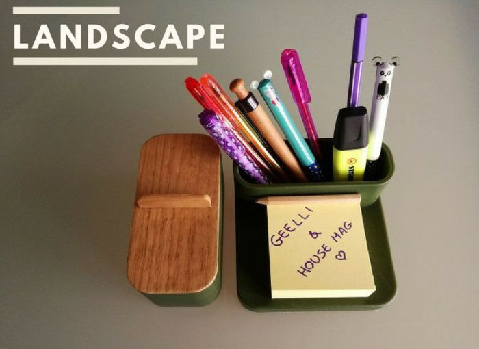 Landscape Tray + Cup by Geelli