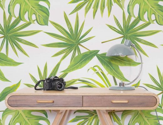 Tropical lead by Murals Wallpaper