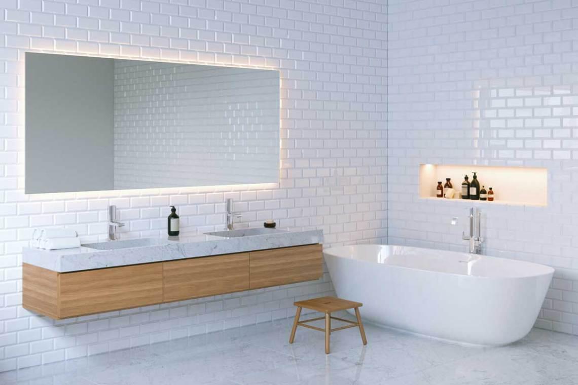 arredamento bagno marmo