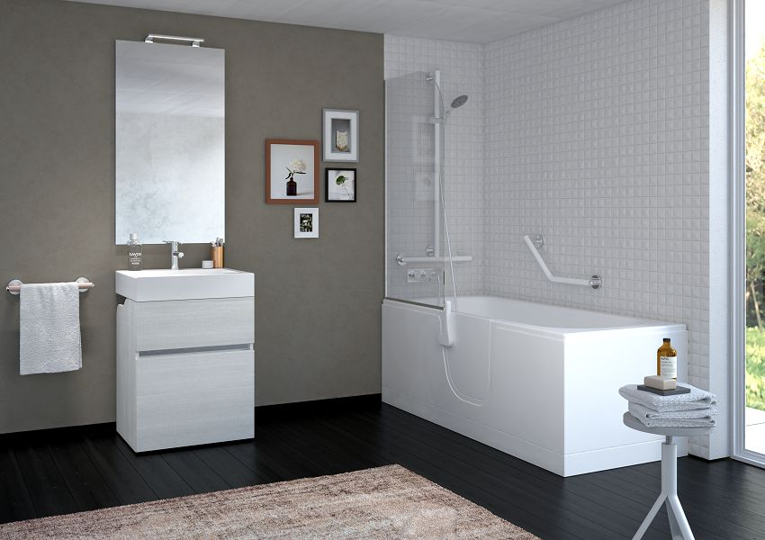 bagno goman accessibile design