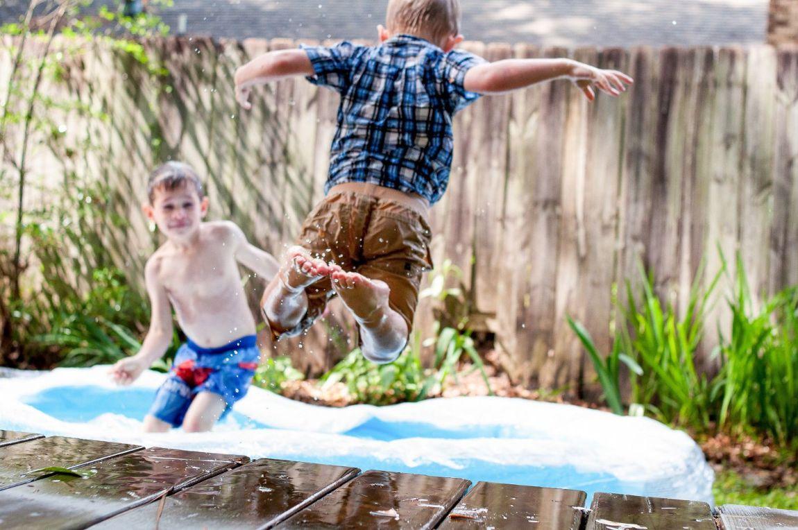 trampolino elastico giochi giardino