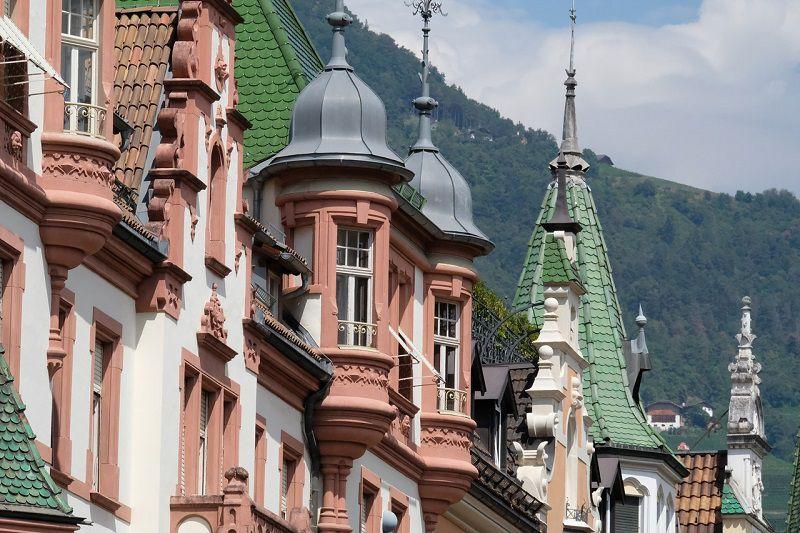 I tetti di Bolzano