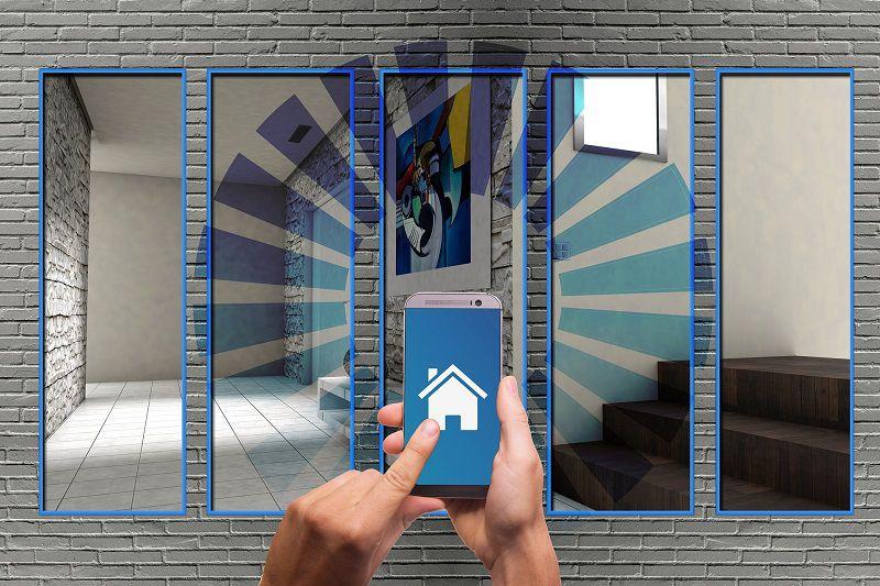 controllare casa domotica