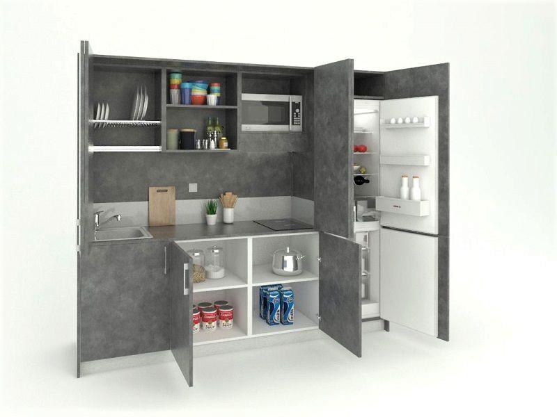 L'ottimizzazione degli spazi in una cucina a scomparsa