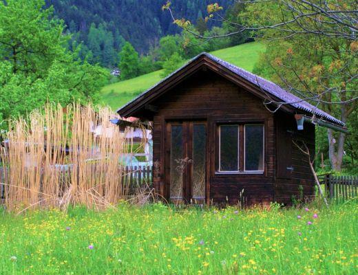 casette in legno outdoor giardino