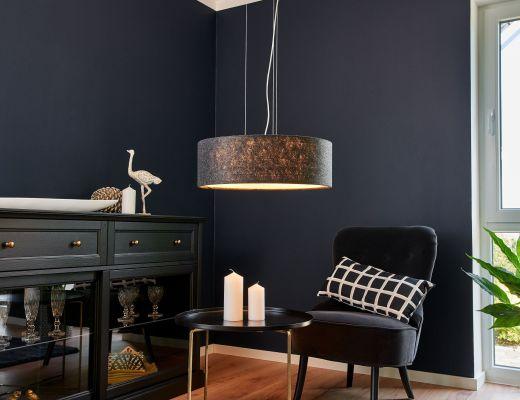 creare atmosfera con luci casa