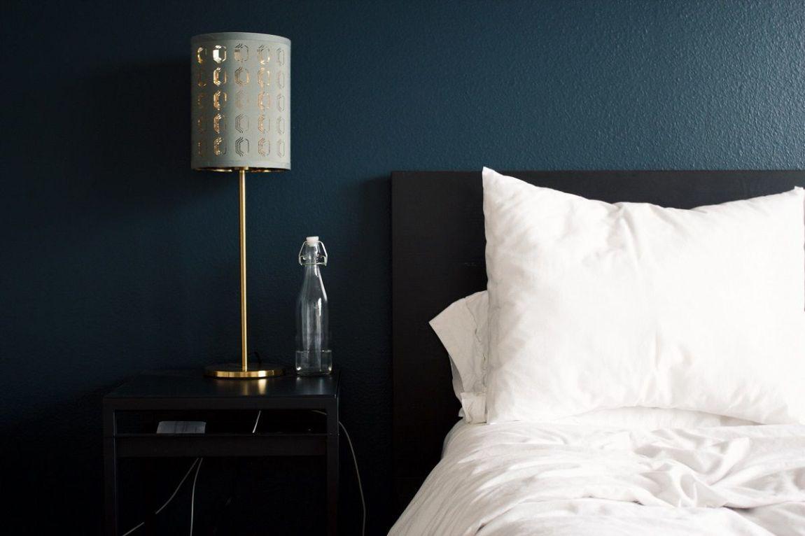 camera da letto illuminazione abat jour