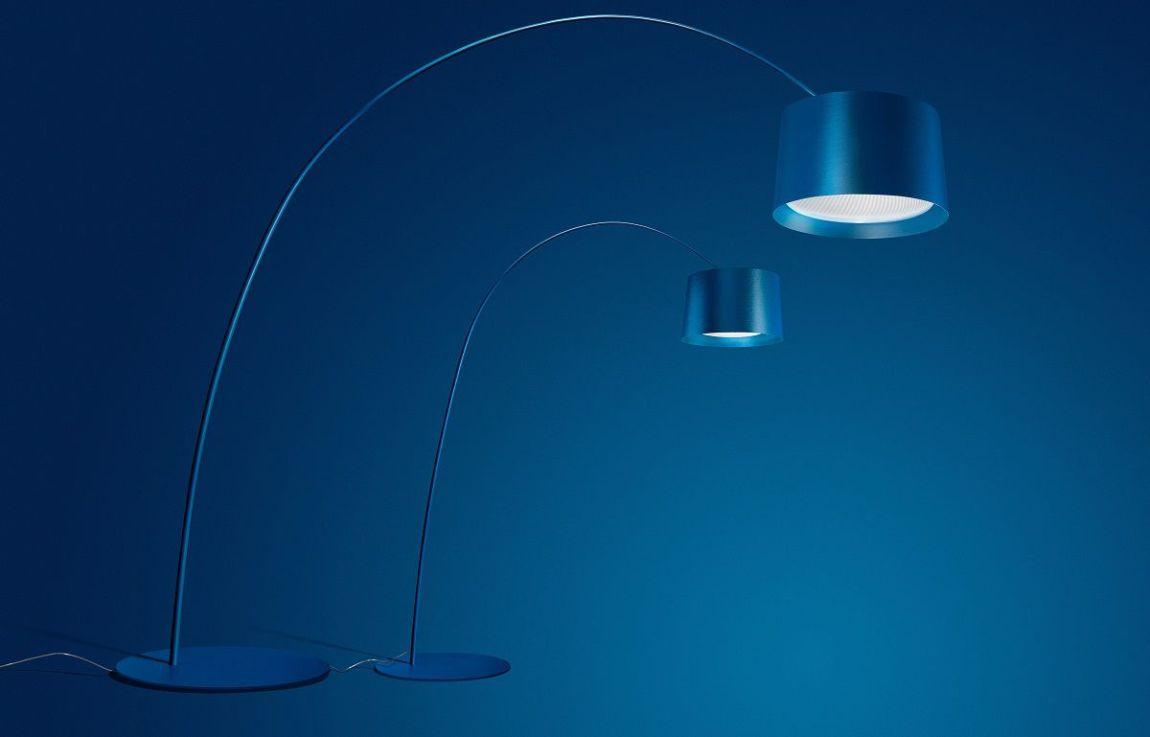 Lampade Foscarini Twice as Twiggy lampada blu