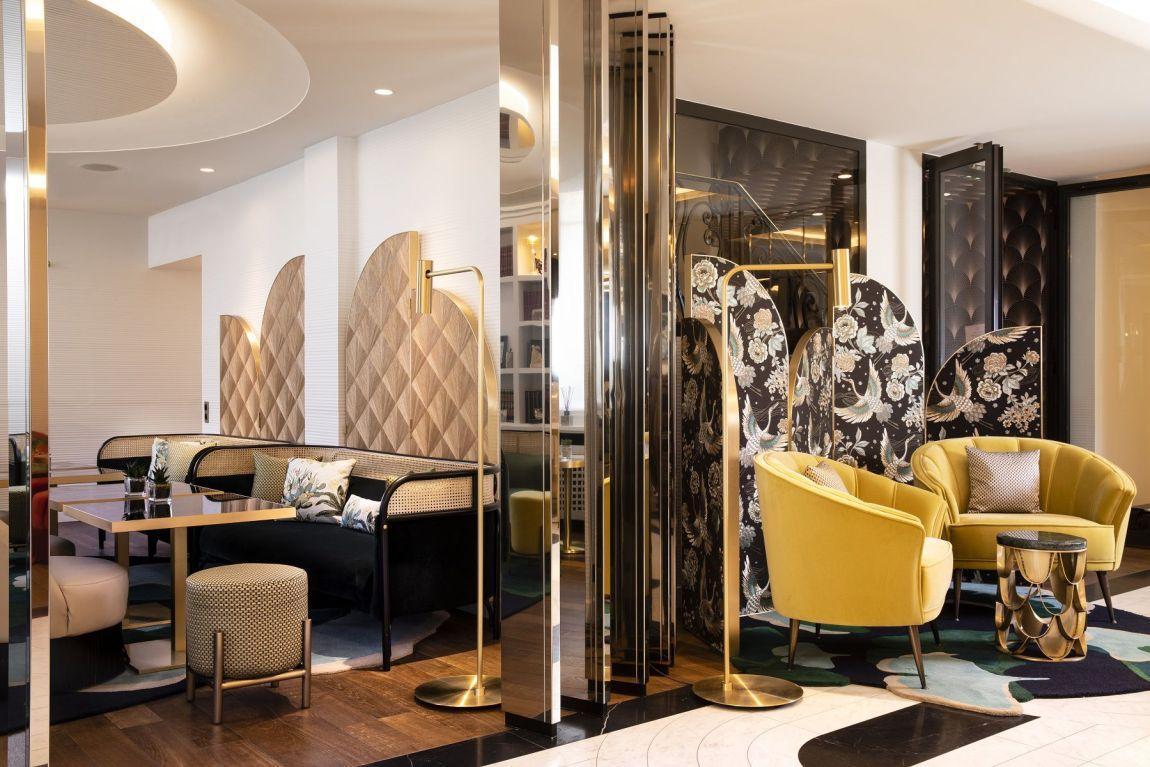 Hotel Victor Hugo entrata Parigi