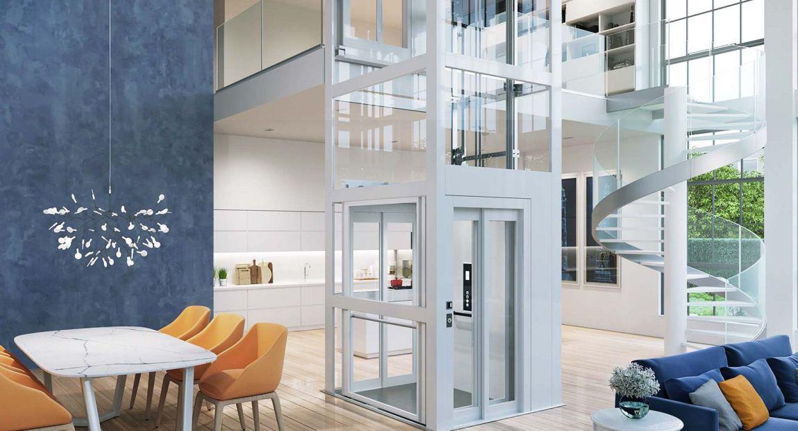 mini ascensore domestico