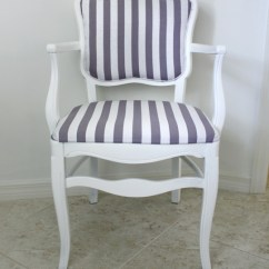 Fabrics For Chairs Striped Stokke Steps Chair How To Reupholster An Occasional House Mix Gray And White