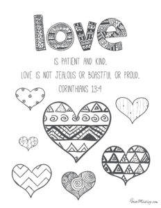 11 Bible verses to teach kids (with printables to color