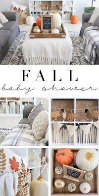 Fall baby shower decorations | House Mix