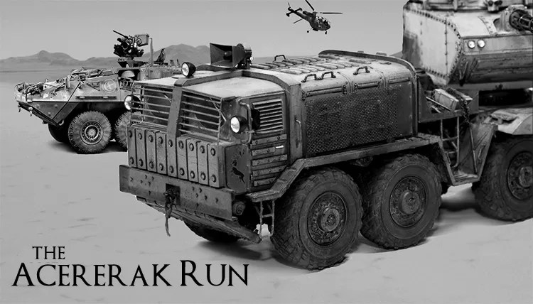 Cover Image for The Acererak Run - a short story about House Morningwood