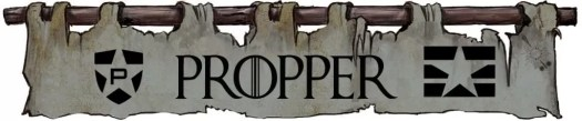 Propper - House Morningwood Game of Thrones banner
