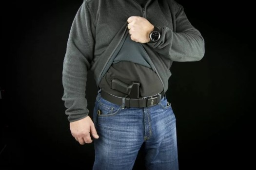 """AIWB holster with claw - the Raven Holsters """"Eidolon"""""""