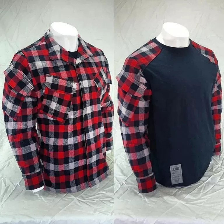 ASNL flannel combat shirt: tough and comfy and looks great under armor!