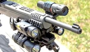 Mall ninja rifle - all the lumens