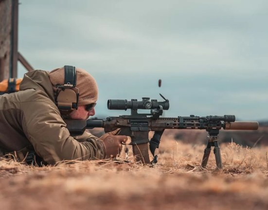Magpul MOE stock in action?