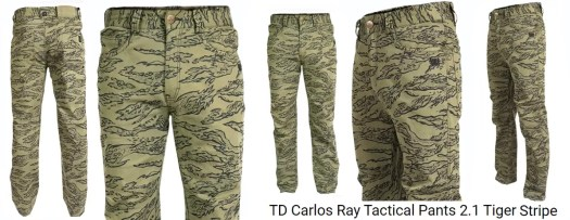 Tiger stripe camo Carlos Ray Pants from TDI