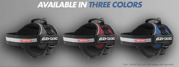 EzD harness color options